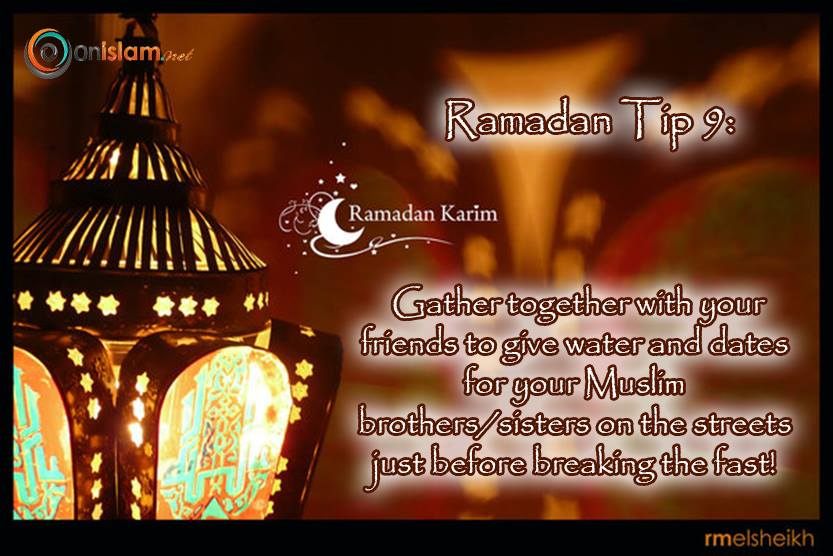 ramadan tips for you  ramadan-tips